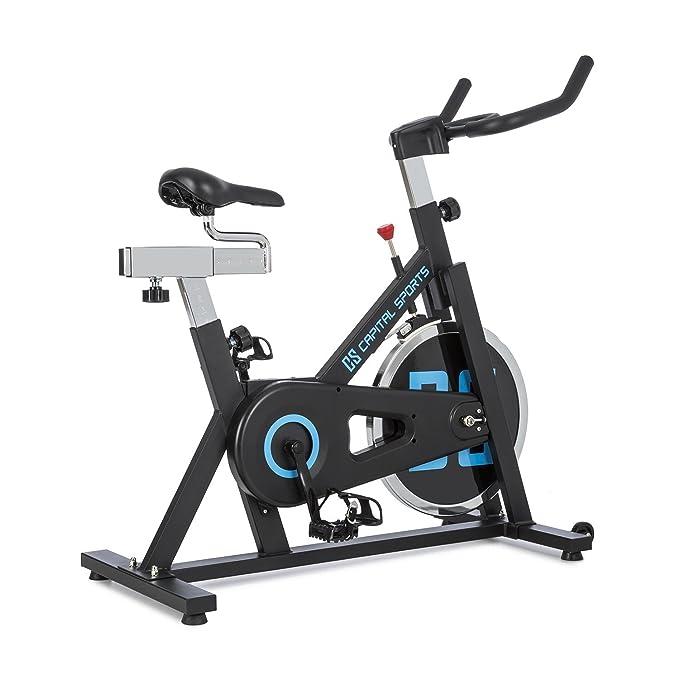 CapitalSports Radical ARC X13 • Bicicleta Indoor • Bicicleta estática • Rueda de inercia con 13kg • Accionamiento por Cadena • Capacidad de Carga 120kg ...
