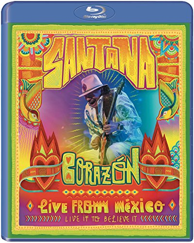 Corazón - Live From Mexico: Live It To Believe It [Blu-ray] (Santana Live At Montreux 2011)