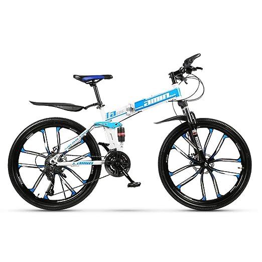 Dapang Bicicleta de montaña de 30 velocidades, Marco de Acero, 26 ...