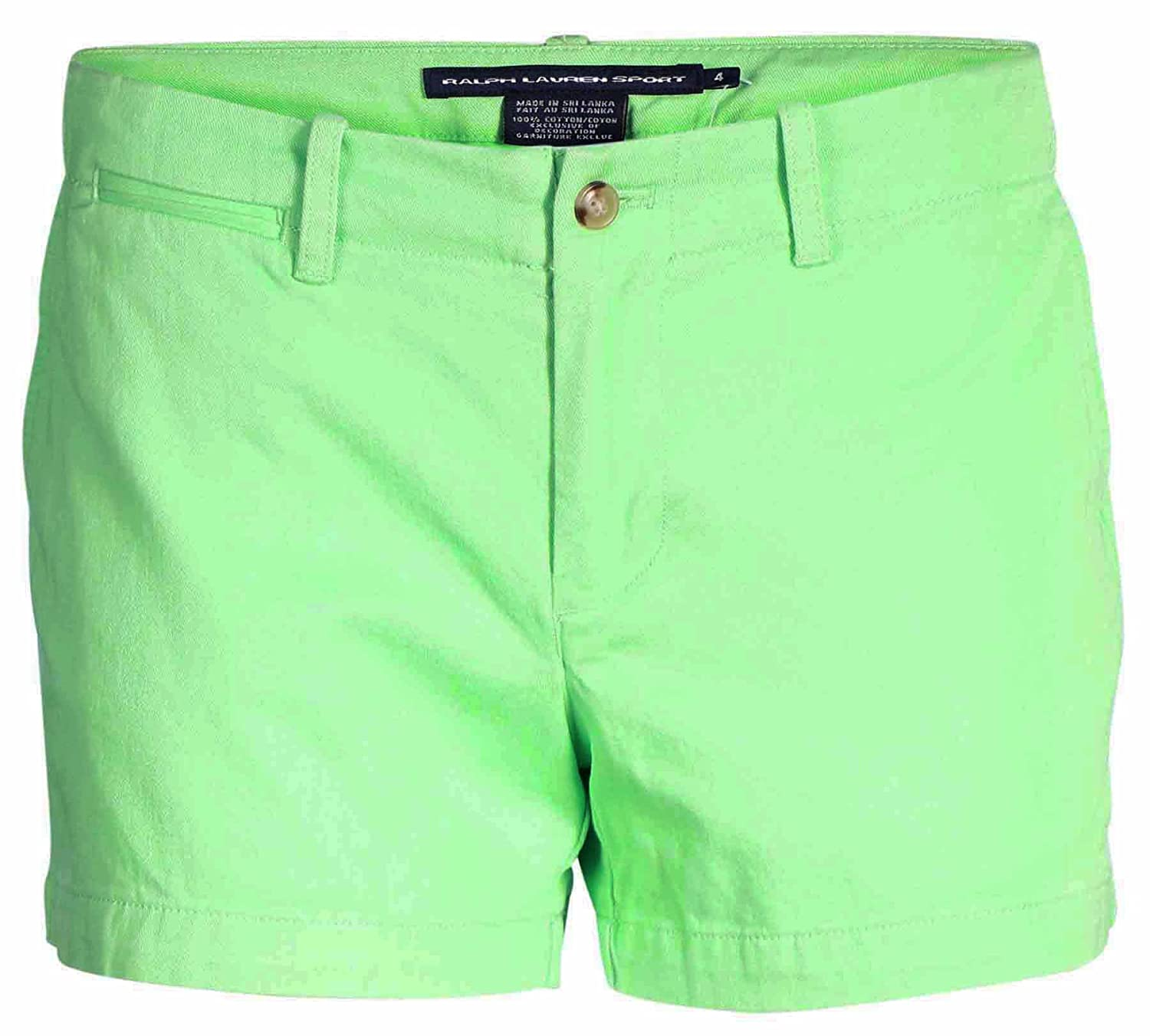 Polo Ralph Lauren Women S Sport 3 5 Inch Pony Logo Shorts Beach Lime