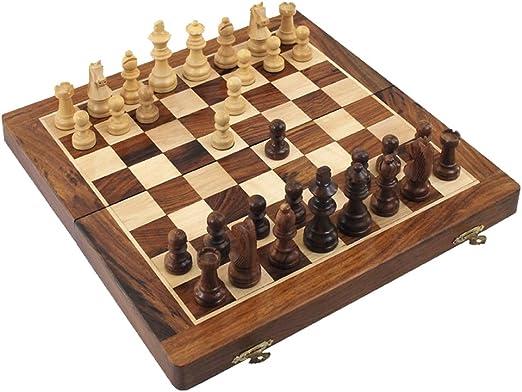 Juego Ajedrez Caja 40 cm: Amazon.es: Hogar
