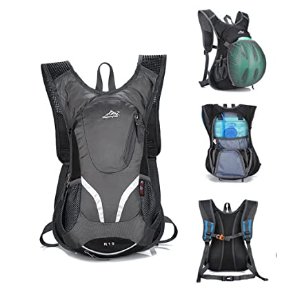 MTB Mochila de hidratación, impermeable, mochila de hidratación para 2 L de bolsa de agua, ...
