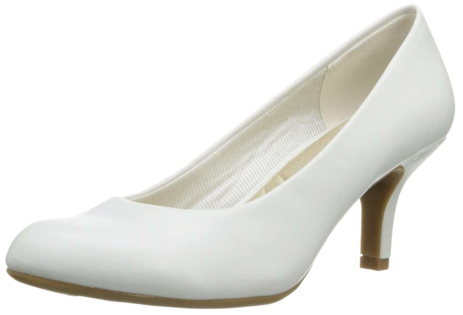 Easy Street Women's Passion Dress Pump B00G0KZ4RS 8 N US|White
