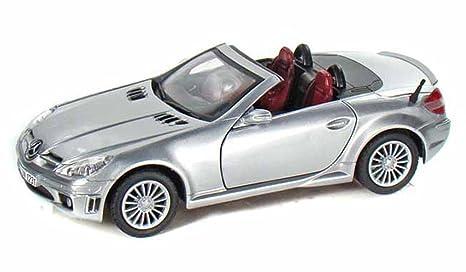 Amazon Com Mercedes Benz Slk55 Amg Silver Motormax 73292