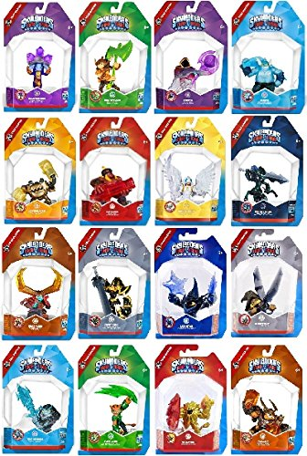 SKYLANDERS TRAP TEAM MASTERS LOT OF 16 & FREE STARTER w/3 ADDITIONAL FIGURES NEW