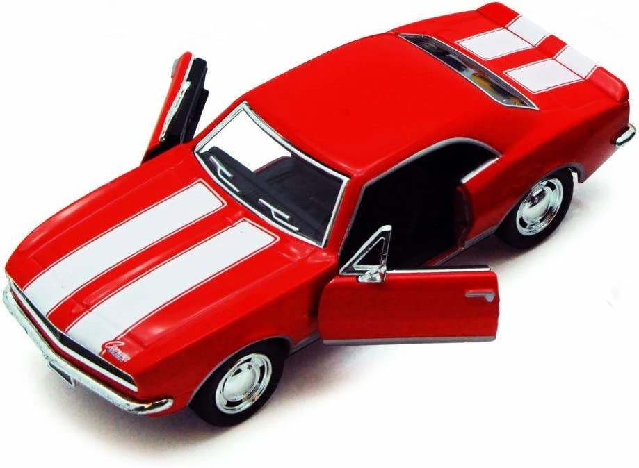 ASSORTED 1967 CHEVY CAMARO Z//28 DIECAST CAR BOX OF 12 1//37 SCALE DIECAST CARS