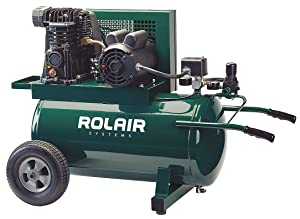Air Compressor, 1.5 HP, 115VAC, 135 psi