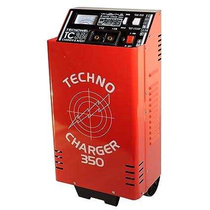Cargador de batería Tec 350 - Cargador batería 12 - 24 V ...