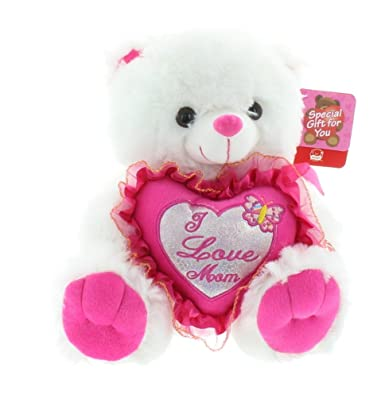 Amazon adorable i love you mom mothers day teddy bear adorable i love you mom mothers day teddy bear voltagebd Gallery