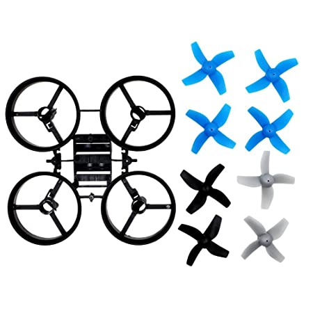 BTG Propellers Props with Frame for JJRC H36 Eachine E010 and ...