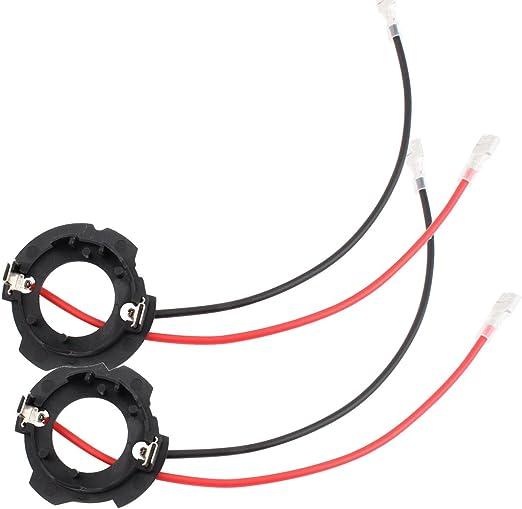 Tomall H7 Led Halter Adapter Scheinwerfer Lampenhalter Für Golf 5 Mk5 Gti Auto