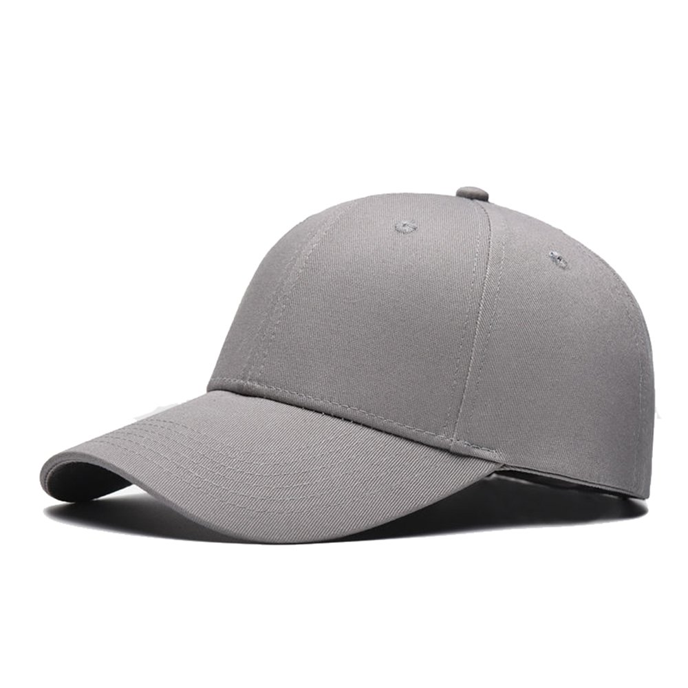 Men Women Baseball Cap Snapback Hat Hip-Hop Adjustable Bboy Caps Black SD