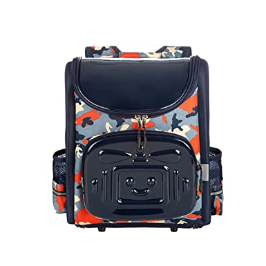 Amazon.com | Moonwind 22L Cool Camo Boys School Backpack for Kids ...