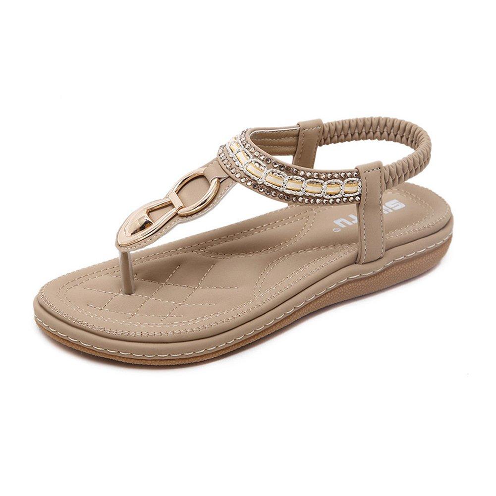 537a6ca5cb3 Galleon - Women Summer Flat Thong Sandals