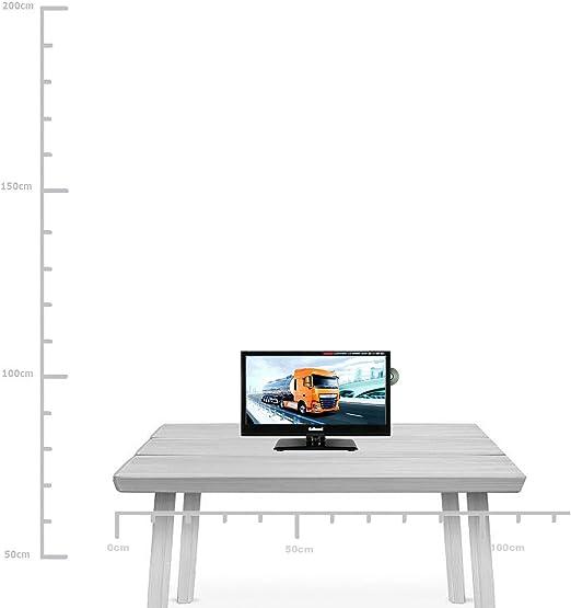 Gelhard GTV de 1662 – Televisor TV 15,6 LED Full HD, DVD, DVB-S/S2 – C – T – T2 12 V/24 V/230 V: Amazon.es: Electrónica
