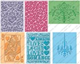 Cuttlebug Provo Craft Embossing Folders, Love's In The Air