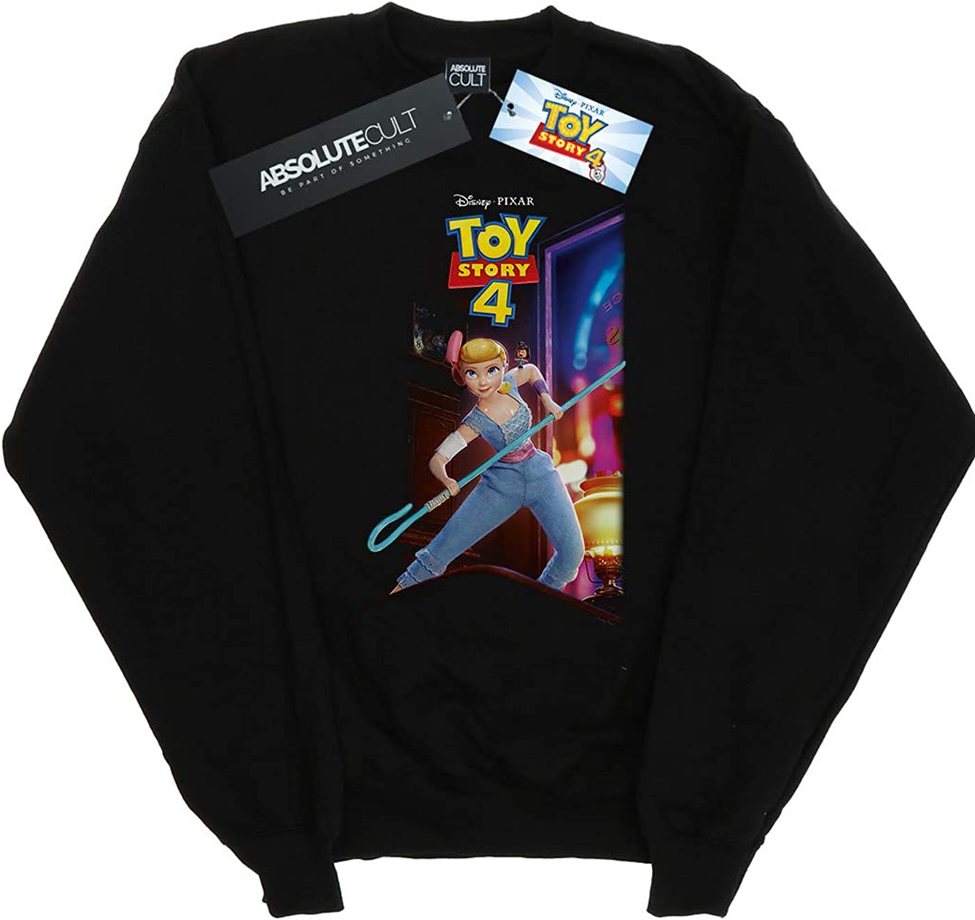 Disney Boys Toy Story 4 Bo Peep and Giggle McDimples Poster Sweatshirt