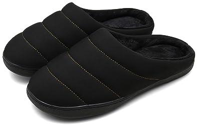 66b0c578d816a DAFENP Chaussons Hiver Homme Femme Peluche Douce Chaud Coton Pantoufles  Confortable Accueil Slippers Chaussures XZ333A-
