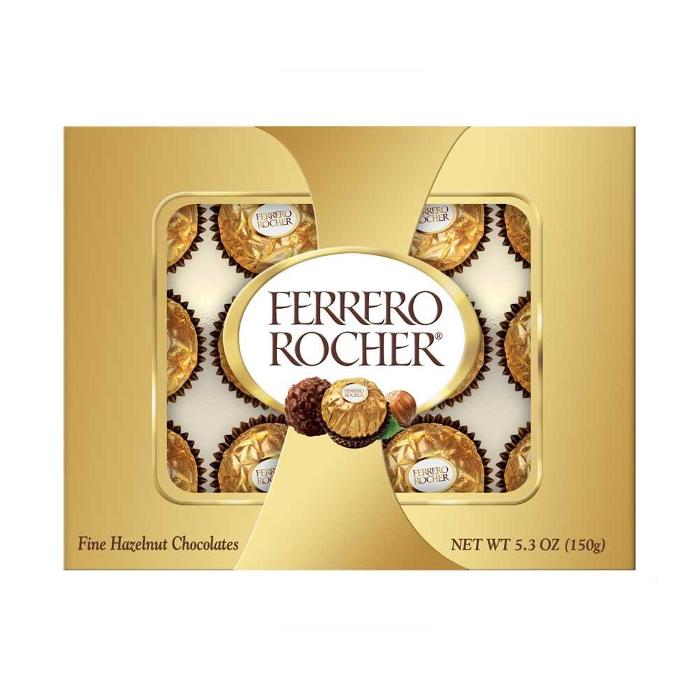 Ferrero Rocher Shelf Chocolate, 5.3 Ounce - 12 per case.