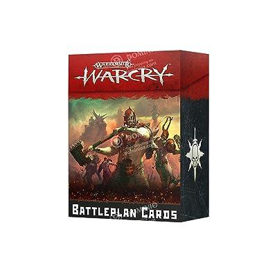 Warhammer Age of Sigmar WARCRY: BATTLEPLAN Cards: Toys & Games