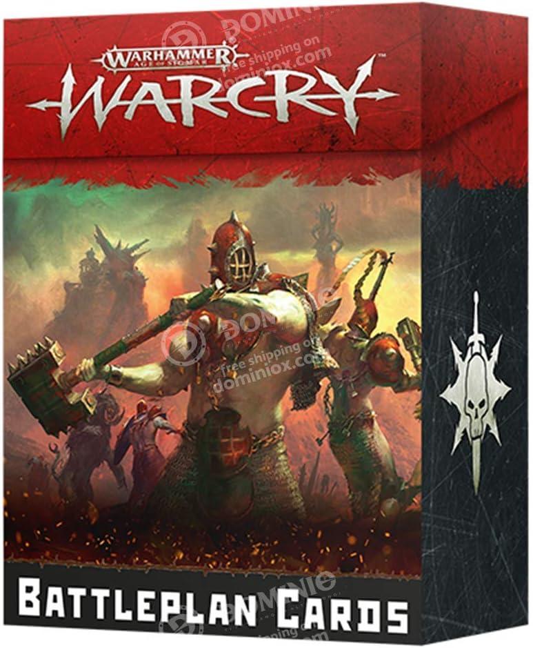 Italiano Games Workshop Warcry Carte Piano di Battaglia