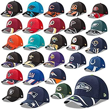 Unbekannt New Era Cap 39thirty NFL Cap Draft 2017 On Stage Seahawks Raiders  Patriots Broncos Panthers Falcons UVM  Amazon.de  Sport   Freizeit 8f1764eede
