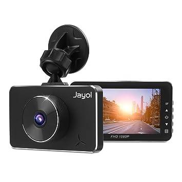 Jayol - Cámara para salpicadero de coche, pantalla IPS de 7,62 cm,