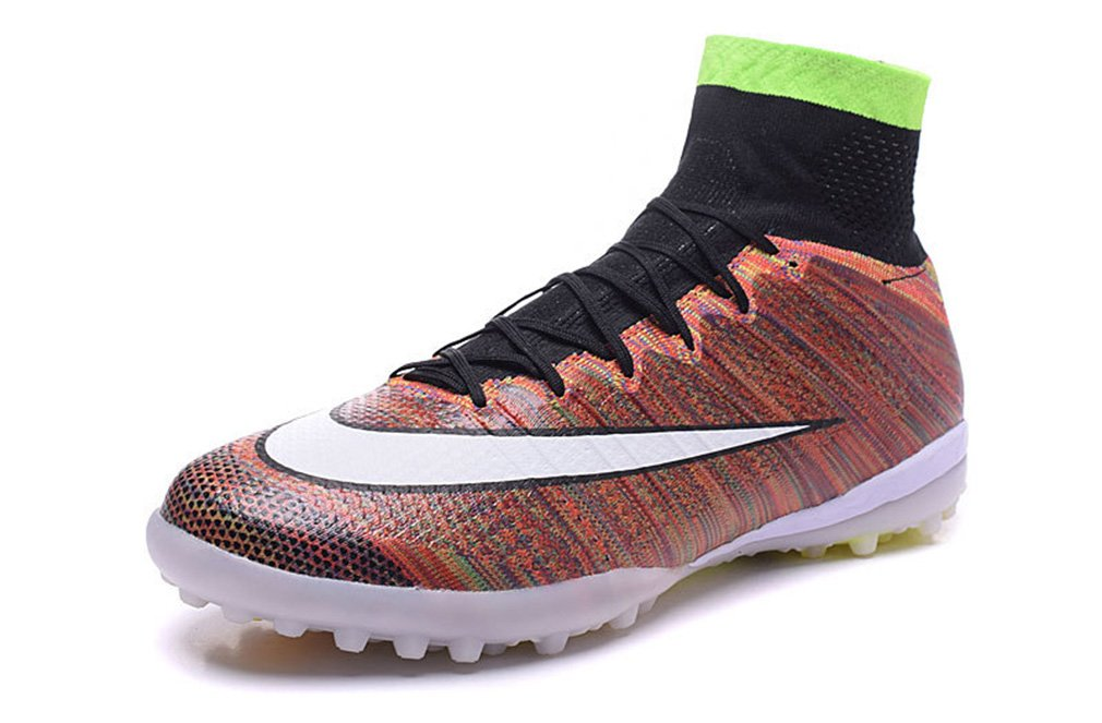 Mercurialx Proximo tf-mens Rainbow High Top Fußball Schuhe Fußball Stiefel