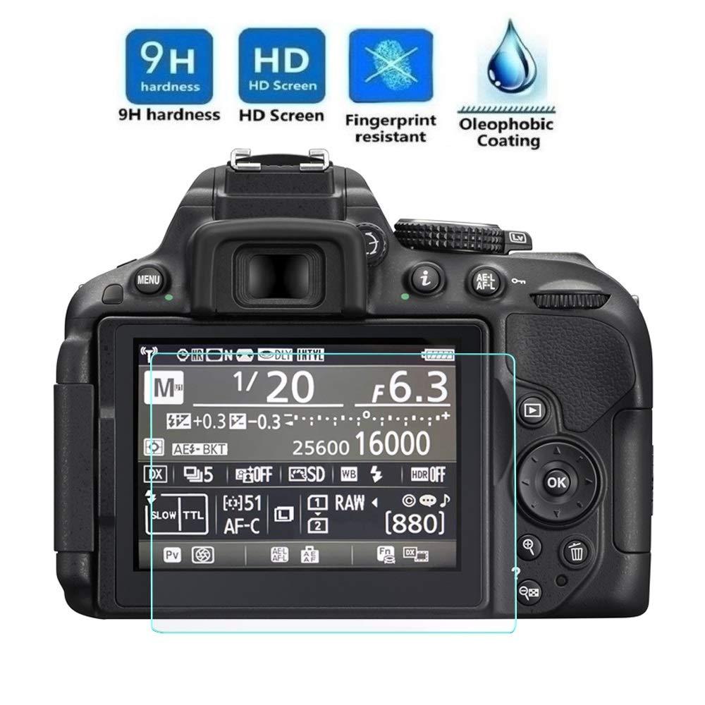 Electrónica Rey Protector de Pantalla para Nikon D5300: Amazon.es ...