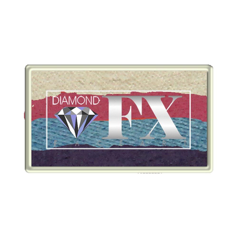 Diamond FX Torta Dividere Personalizzato 28 gm - Fiore Perla (rs30-52)