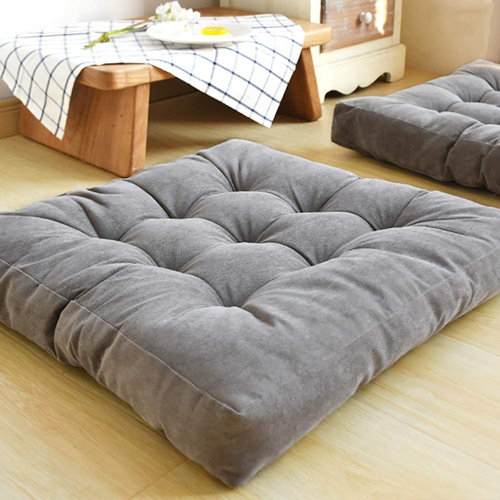 Amazon.com: JanIST Oversized Square Padded Tatami Seat Cushion