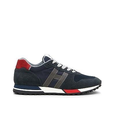 141d6bb36c2d Hogan Herren Sneaker  , Schwarz - Schwarz - Größe  6  MainApps ...