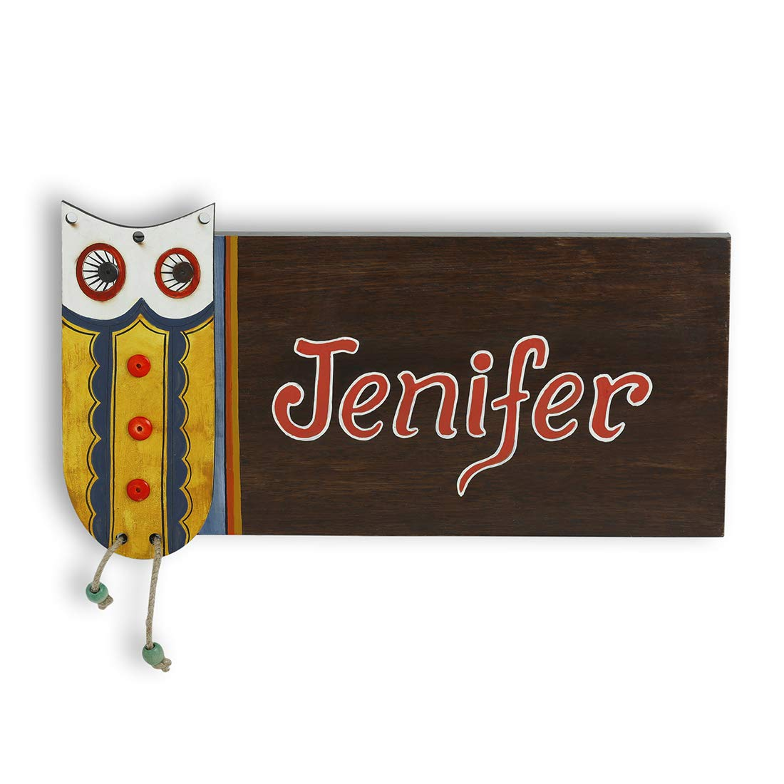 Handmade nameplates for home Customized nameplates with decoative Name plates near me