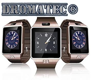 DROMATEC® SW09 or montre connectée bluetooth Smartwatch carte sim bluetooth appareil photo podometre mode sommeil
