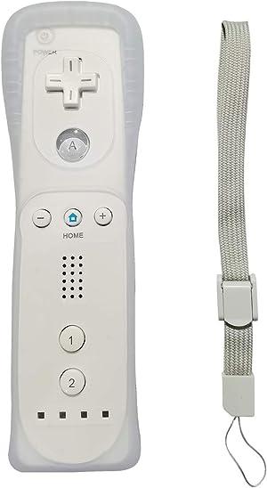 Wii Controller, Yudeg Wii Remote Controller for Wii Wii U (White)