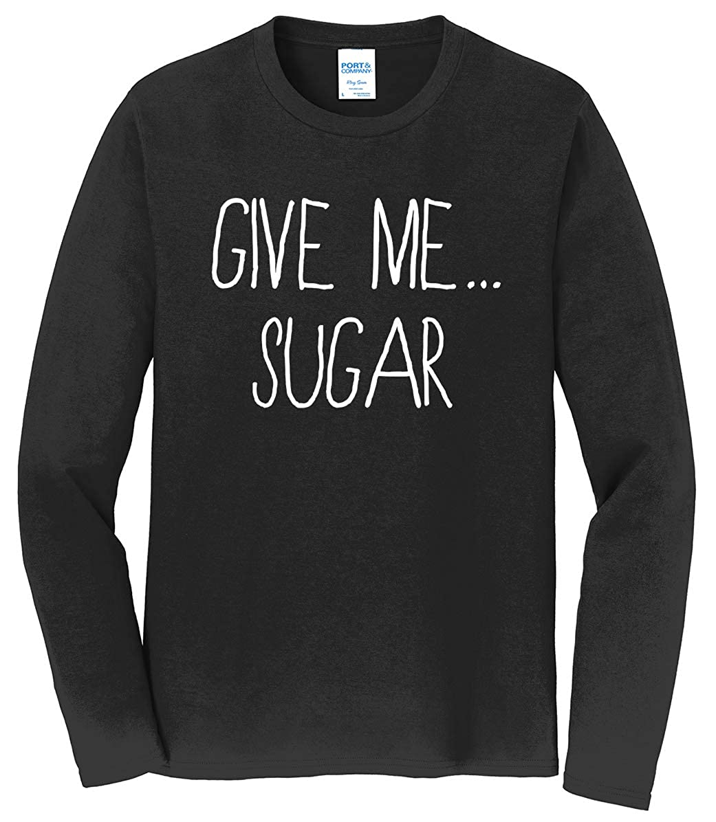 Tenacitee Mens Give Me Sugar T-Shirt