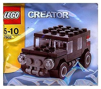 LEGO Creator: Negro SUV Establecer 7602 (Bolsas): Amazon.es ...