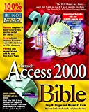 img - for Microsoft Access 2000 Bible book / textbook / text book