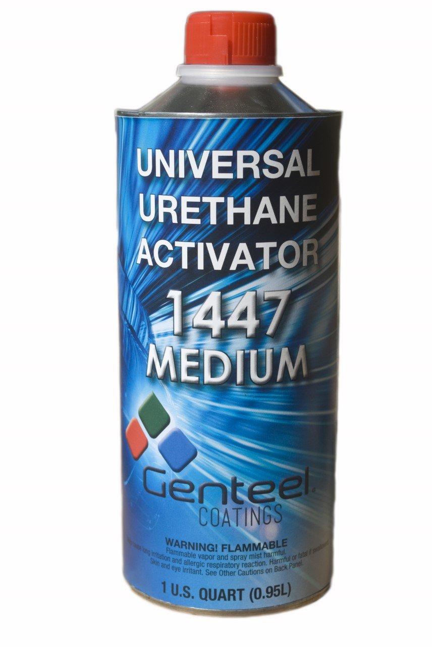 Genteel Coatings 1447- Medium - Universal 2K Urethane Paint and Clearcoat Activator- 1 Quart
