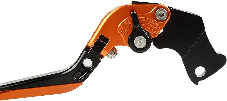 Motorrad CNC Aluminium 6-Stufen-Einstellbremse und Kupplungshebel-Kit f/ür K-T-M DUKE 125 2011-2020 DUKE 200 2014-2020 DUKE 390 2013-2020 RC 125 2011-2020 RC 200 2014-2020 RC 390 2013-2020