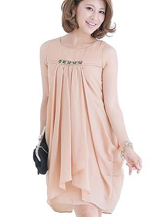Amazon Pourvous Womens Formal Dress Sleeveless Knee Length