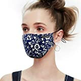 Anti Pollution Dust Mask Washable and Reusable PM2.5 Cotton Face Mouth Mask Protection from Pollen Allergy Respirator…