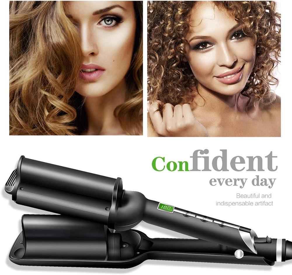 UKLISS - Rizadora y onduladora eléctrica de pelo para mujeres ...
