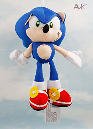 SONIC THE HEDGEHOG - PELUCHE SONIC 20cm / SONIC PLUSH TOY 7.8""
