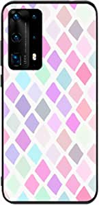 Okteq Back cover Compatible with Huawei P40 Pro - pinks By Okteq