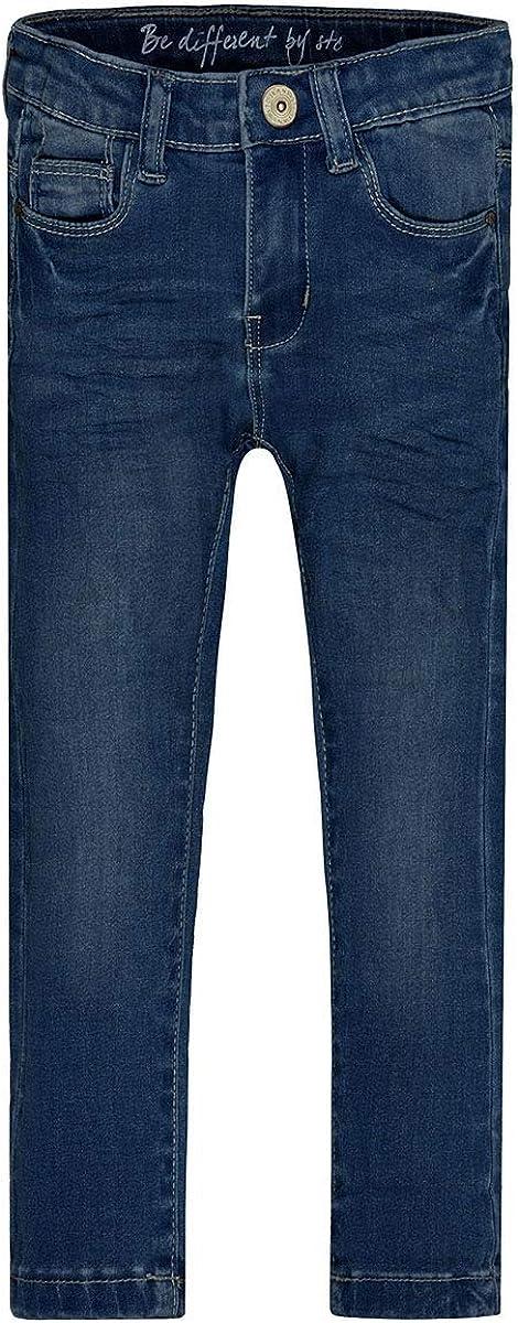 Slim Fit ideal f/ür Schule und Freizeit Jeans M/ädchen Lisa elastischer Stretchstoff Skinny Fit