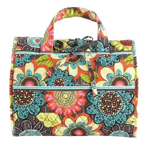 Vera Bradley Hanging Organizer Travel Bag in Flower Shower by Vera Bradley