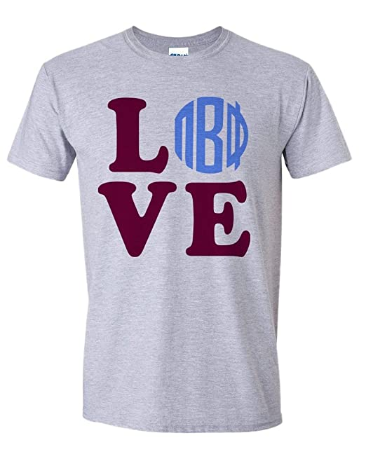 express design group pi beta phi love letter tee small grey