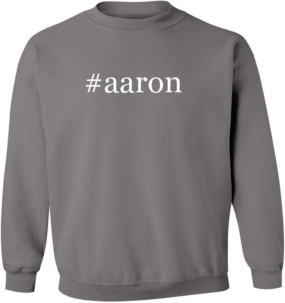 #Aaron - Men'S Hashtag Pullover Crewneck Sweatshirt