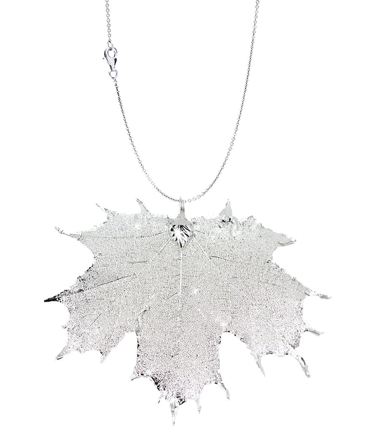 gold uk mistral accessories from jewellery pendant necklaces maple necklace rose leaf